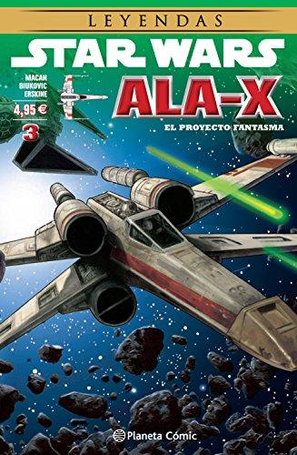 Star Wars Ala X nº 03/10: El proyector fantasma: 22 (Star Wars: Cómics Leyendas)
