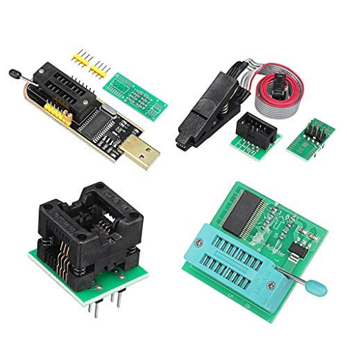 """adapter usb /"""" 1,8 // 25 24 autor soic8 clip ch341a programmierer eeprom"""