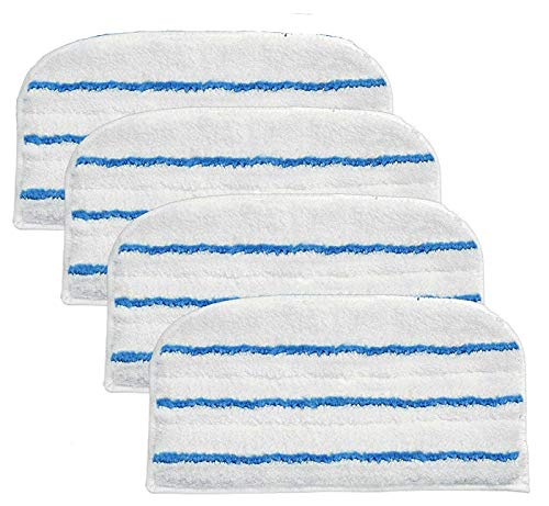 FIND A SPARE Replacement FSM Type Washable Microfibre Cleaner Pads for Black & Decker Steam Mops x4