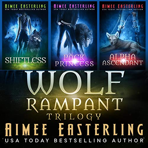 Wolf Rampant Trilogy cover art