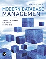 Modern Database Management, 13th Edition Front Cover