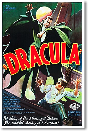Dracula - 1931 starring Bela Lugosi - NEW Vintage Movie Poster