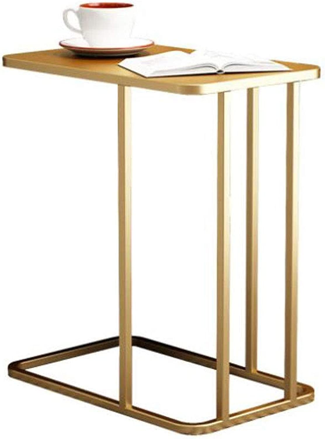 End Table, End Table Sofa Side Coffee Snack Storage Trolly Table for Home,Living Room,Office,50  30  58 cm (color   A)