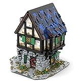 MARLO MOC 44070 Medieval Smith - Casa modular de 2997 piezas compatible con Lego Medieval Blacksmith 21325