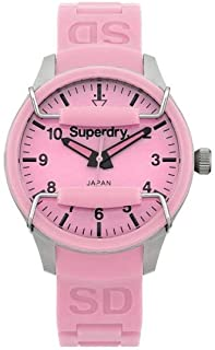 SYL120LP Ladies Scuba Light Pink Silicone Strap Watch