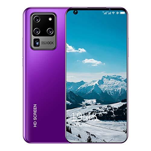 Teléfono resistente, teléfono inteligente S30U + Dual SIM Android 10 desbloqueado, 6.82 pulgadas 18: 9 HD +, 6GB + 128GB (SD 128GB), batería de 5600mAh, teléfonos inteligentes 5G, 16MP + 32MP, Face