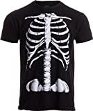 Skeleton Rib Cage | Jumbo Print Novelty Halloween Costume Unisex T-Shirt-Adult,L Black