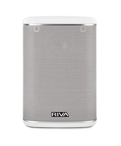 RIVA ARENA Wi-Fi Multi-room Speaker works with Google Assistant Voice Control & Optional Battery (Renewed)