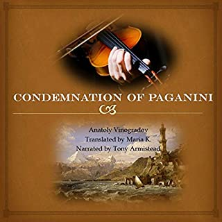 Condemnation of Paganini audiobook cover art
