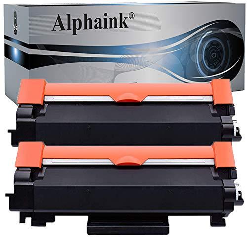 Alphaink 2 Toner Compatibili con Brother TN-2410 TN-2420 (CON CHIP) versione da 3000 copie per stampanti Brother DCPL2510D 2512D 2530DW HL2310D 2350DW 2370DN 2372DN 2375DW MFC2710DW 2730DW 2750DW