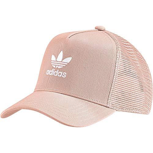 adidas Trefoil Trucker Cap Herren, Dust Pink/White, Einheitsgröße (Herstellergröße: OSFM)