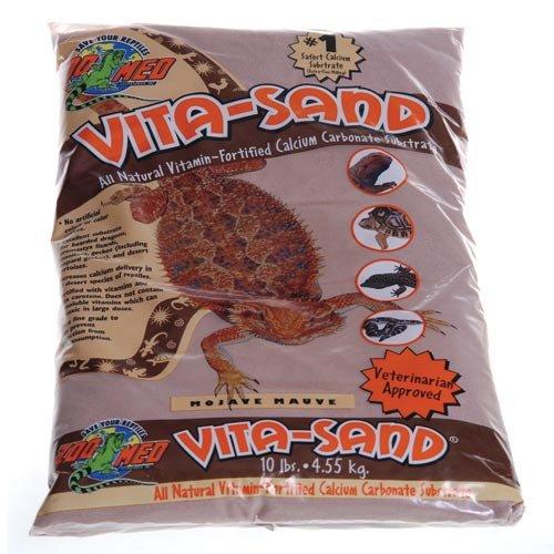 Zoo Med Vita-sand Sable pour Reptile/Amphibien Sahara Slate 4,5 kg