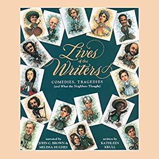 Lives of the Writers audiobook cover art