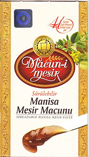 Ottoman Mesir Paste, Traditional Turkish Mesir Macunu with 41 Herbals and Spices