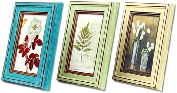 GONGFF Picture Frame Portrait Import Photo Landscape Frames Retro Horiz 4 years warranty