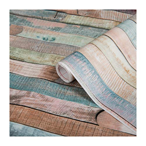d-c-fix, Folie, Design Rio buntes Holz, selbstklebend, 45 x