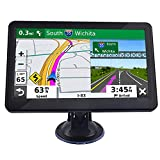 Sat Nav 7 Inch Car GPS Navigation System 8GB with HD Touchscreen+Real Voice Speed Camera Alerts &...