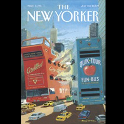 The New Yorker, July 20, 2009 (William Finnegan, Evan Osnos, Hendrik Hertzberg) cover art