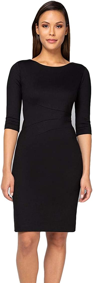 Nora Gardner Women's Long Sleeve Slim Knit Lydia Dress