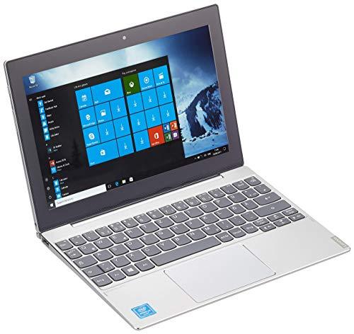 Lenovo Miix 320 25,7 cm (10,1 Zoll Full HD IPS Touch) 2in1 Tablet (Intel Atom Z8350, 4  GB RAM, 64 GB eMMC, Wi-Fi, Windows 10 Home) silber inkl. Microsoft Office 365 (Generalüberholt)