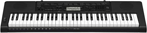 Casio CTK-3500 61-Key Touch Sensitive Portable Keyboard with Power Supply,Black product image