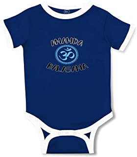 Cute Rascals Ananda Balasana Taped Neck Boys-Girls Cotton Baby Soccer Bodysuit