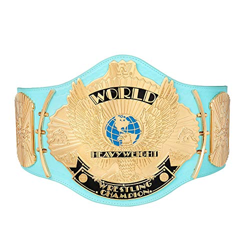 WWE Authentic Wear Replica Blue Winged Eagle Championship Title Belt