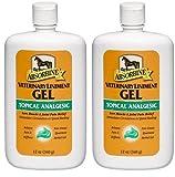 Absorbine Veterinary Liniment Gel, 12-Ounce (2-Pack)