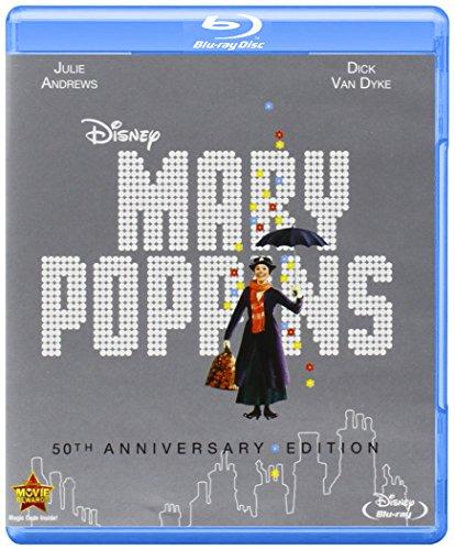 Mary Poppins: 50Th Anniversary Edition (2 Blu-Ray) [Edizione: Stati Uniti] [Reino Unido] [Blu-ray]