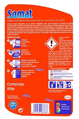 Somat Lavavajillas Limpia Máquinas – 3 Dosis