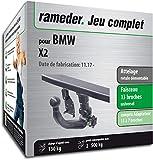 Rameder Attelage rotule démontable pour BMW X2 + Faisceau 13 Broches...