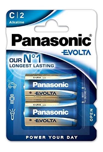 Panasonic Batterie Baby/C EVOLTA Alkaline