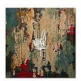 Mike Shinoda 2018 Rap Music Album Post Traumatic Canvas Poster per Soggiorno Home Decor Stampa su Tela -60x60cm Senza Cornice