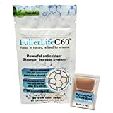 Carbon 60 Antioxidant Dissolvable Strips   Immunity Booster   Pure 99.99% C60 Solvent Free   Not C60 in Olive Oil   Fully Dissolved & Dispersed Solubilized C60