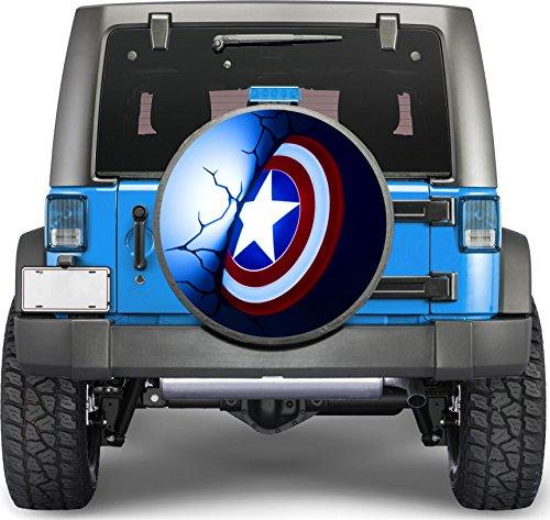 tire cover captain america - 9