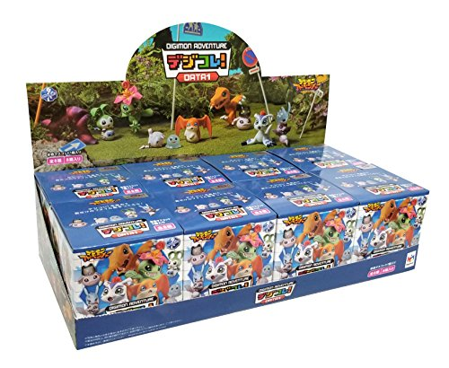 MegaHouse Digimon Adventure Data 1 Action Figures (Random Blind Box Set of 8)