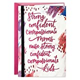 Hallmark Mothers Day Card (Strong, Confident, Compassionate)