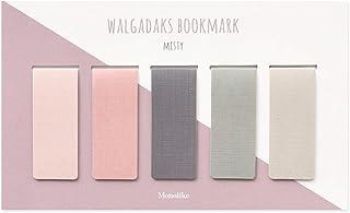 モノライク マグネット式 しおり ミスティ Misty Bookmarks 5個セットマグネットブックマーク