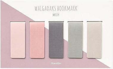Monolike Magnetic Bookmarks Misty, Set of 5