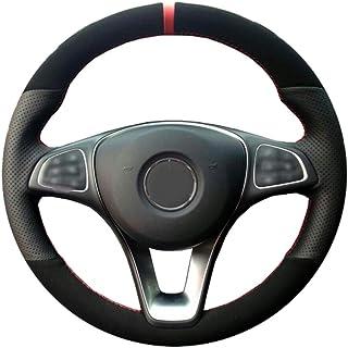 CYBHR handmade Auto AccessoriesCar Steering Wheel Cover,for Mercedes-Benz C180 C200 W205 C300 B200