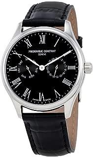 Frederique Constant Classics Quartz Movement Black Dial Men's Watch FC259BR5B6