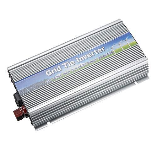 H HILABEE 1000 Watt Power Inverter, Convierte DC 10.5V-30V De Entrada A AC 180V-260V De Salida, Panel Solar De Alto Rendimiento MPPT Grid Tie Inverter