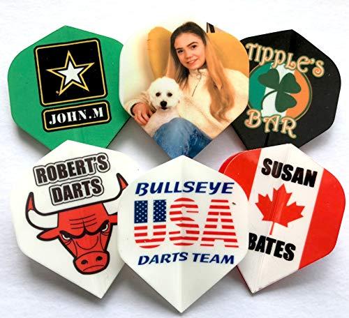 Personalized Printed Dart Flights