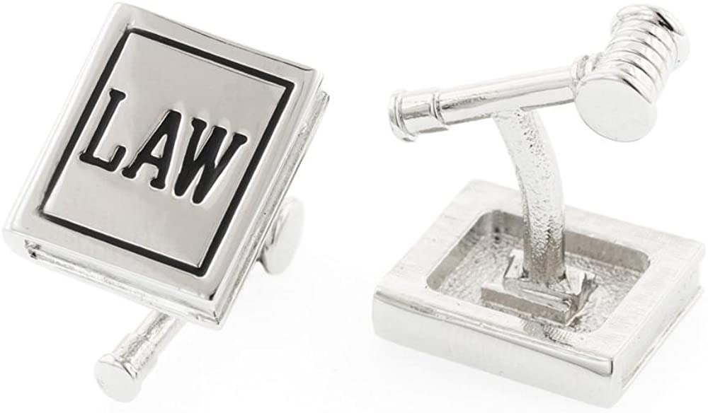 JJ Be super welcome Weston Law Book and Gavel Max 45% OFF Cufflinks. Made The in USA