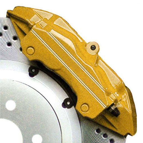 Gold G2 Brake Caliper Paint High Heat / Temperature Epoxy Style Kit / System MADE IN USA