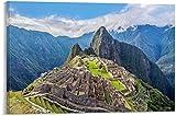 GUIBSGS Peru Antike Stadt Machu Picchu Berge Peru Antike