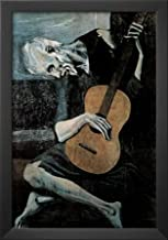 Pablo Picasso (Old Guitarist) Art Poster Print