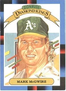 1988 Donruss Baseball Card #1 Mark McGwire