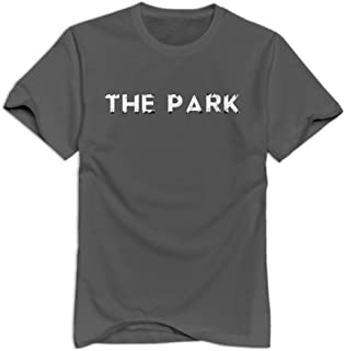 THE PARK T-shirt For Men Joke 100% Cotton T-shirts For Mens