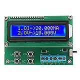 JCCOZ-URG Transmisor de 4-20 mA TGC700 10V 20mA tensión del generador de señal con LCD Display 1602 URG